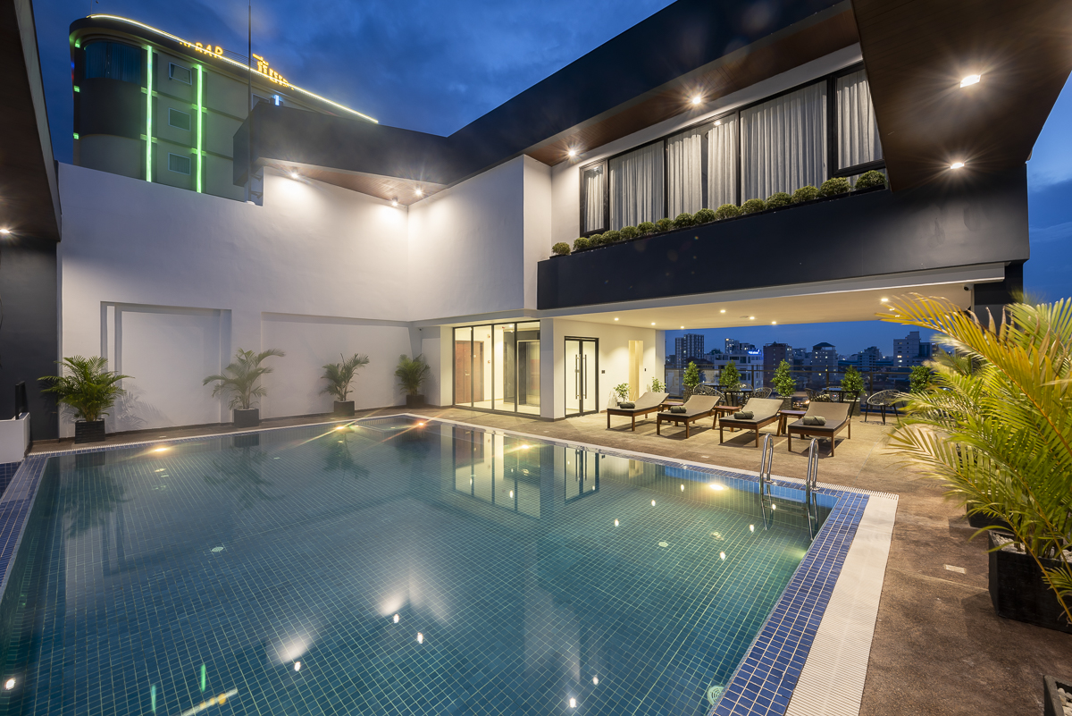 Gym & Swimming pool 3 bedrooms Apart for Rent in BKK2