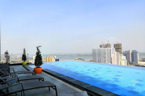 Brand New Luxury One Bedroom Condominium for Rent in Tonle Bassac (1)