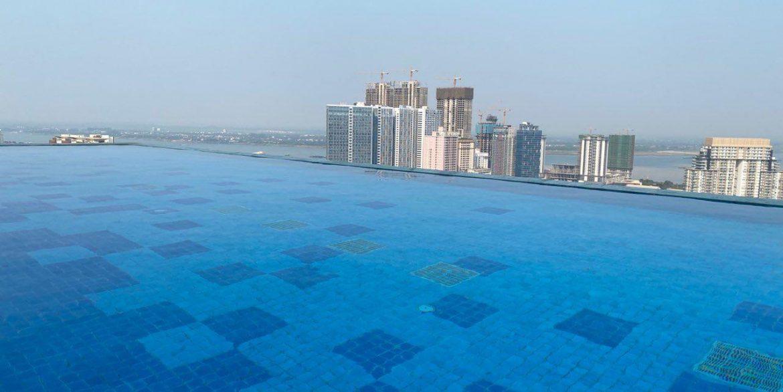 Brand New Luxury One Bedroom Condominium for Rent in Tonle Bassac (2)