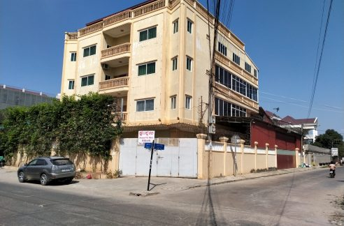 Corner Building for Rent in Sen Sok, Near AEON Mall 2 and Macro Shopping Center (1)