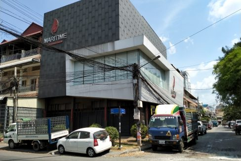 Corner Building for Rent in Tomnub Teuk Near Sovanna Shopping Center