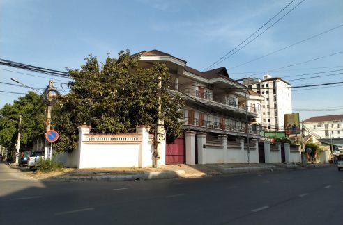 Corner Building for Sale in Toul Kork, Near Indradevi High School (1)