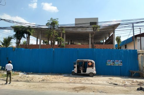New Building for Rent in Phnom Penh Thmey, Near AEON Mall 2 (1)