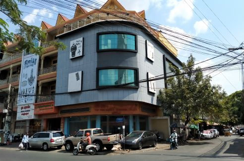 Corner Building for Rent in Toul Kork Near Mondial Center