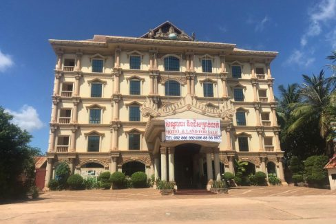 Land and Hotel for Sale in Siem Reap