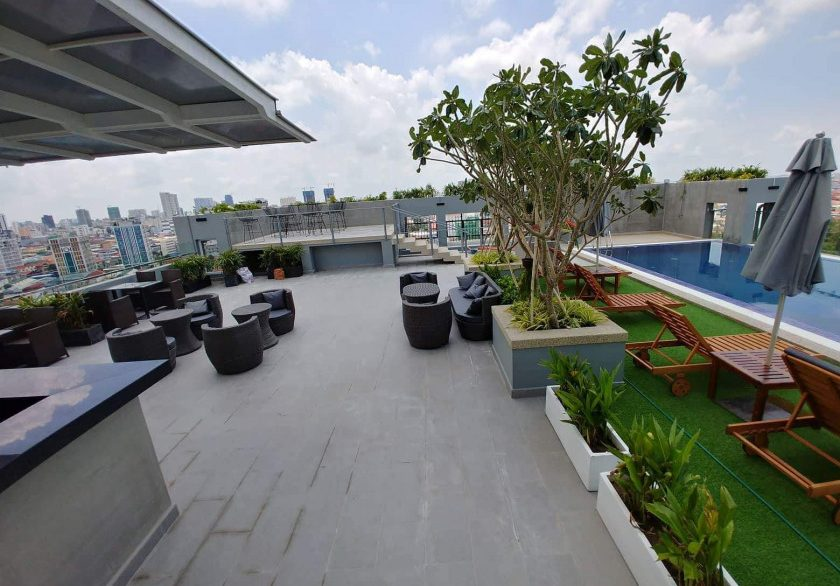 Luxury One Bedroom Apartment for rent in Boeng Tumpun Area (4)