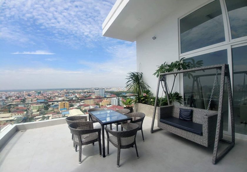 Luxury One Bedroom Apartment for rent in Boeng Tumpun Area (5)