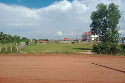 Beautiful Corner Land for Sale in Krong Siem Reap
