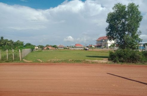 Beautiful Corner Land for Sale in Krong Siem Reap