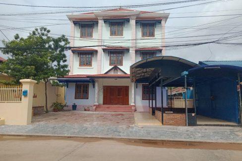 Good House for Rent as Office near Sala Kamreuk Krong Siem Reap