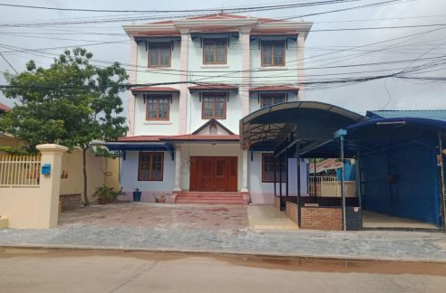 Good House for Rent as Office near Sala Kamreuk Krong Siem Reap