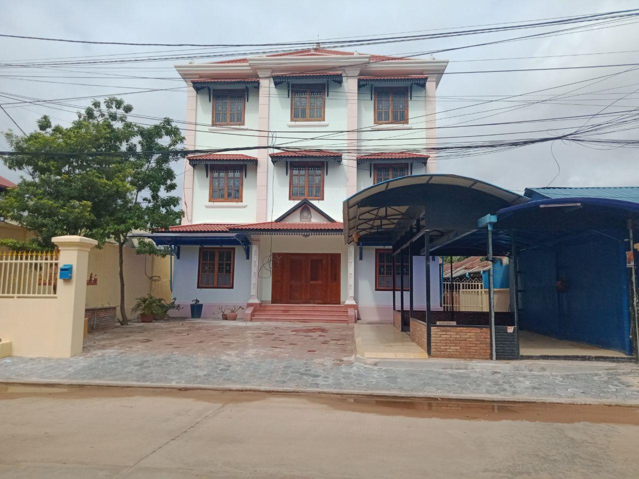 Good House for Rent near Sala Kamreuk Krong Siem Reap