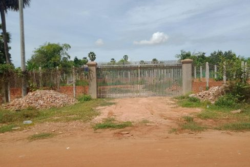 Land Good for Build Villa for Sale in Krong Siem Reap