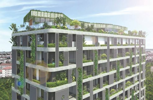 Modern Garden One Condominium for Sale in Toul Kork (1)