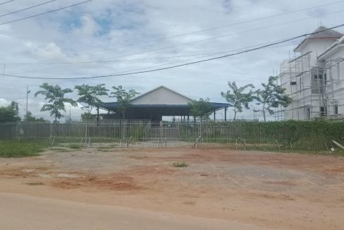 Big Land for Sale Near Palm Container Night Market Krong Siem Reap