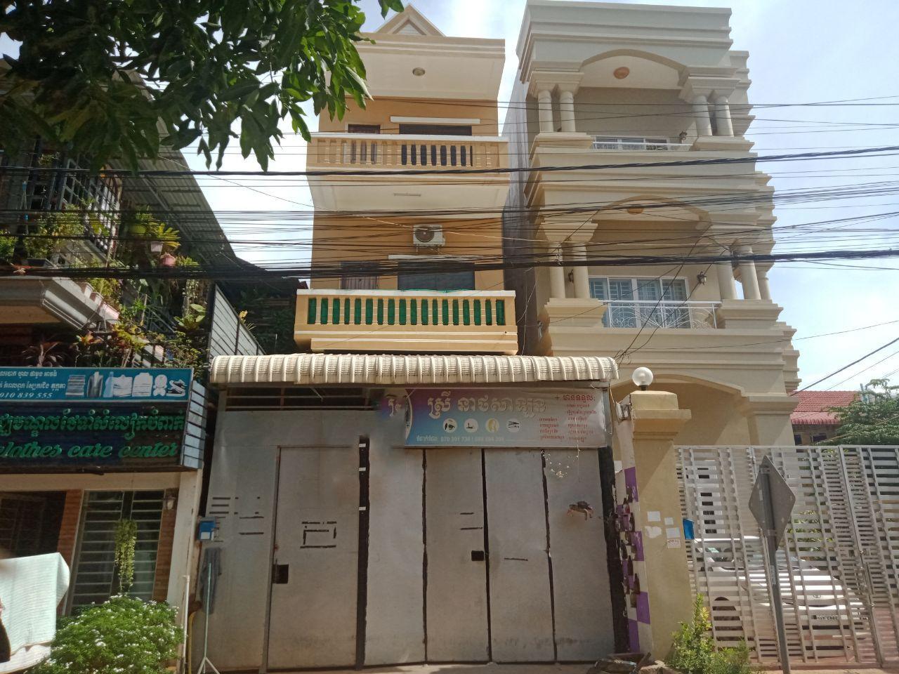 Eo&E1 House for Rent near Central Market Siem Reap