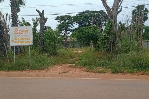 Land for Sale Near Khnar Chhas Road in Krong Siem Reap