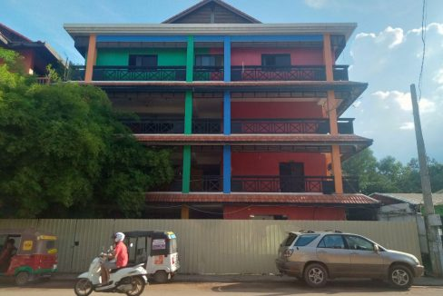 Building with Many Rooms for Rent along 7 Makara Street Siem Reap