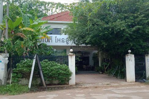 Shophouse Villa for Rent near Wat Bo Primary School in Krong Siem Reap
