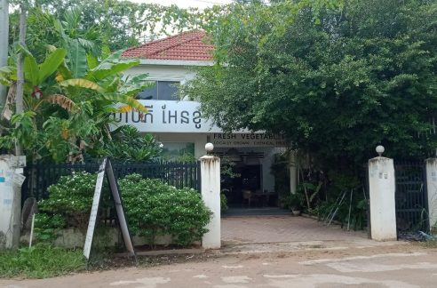 Shophouse Villa for Rent near Wat Bo Primary School in Krong Siem Reap
