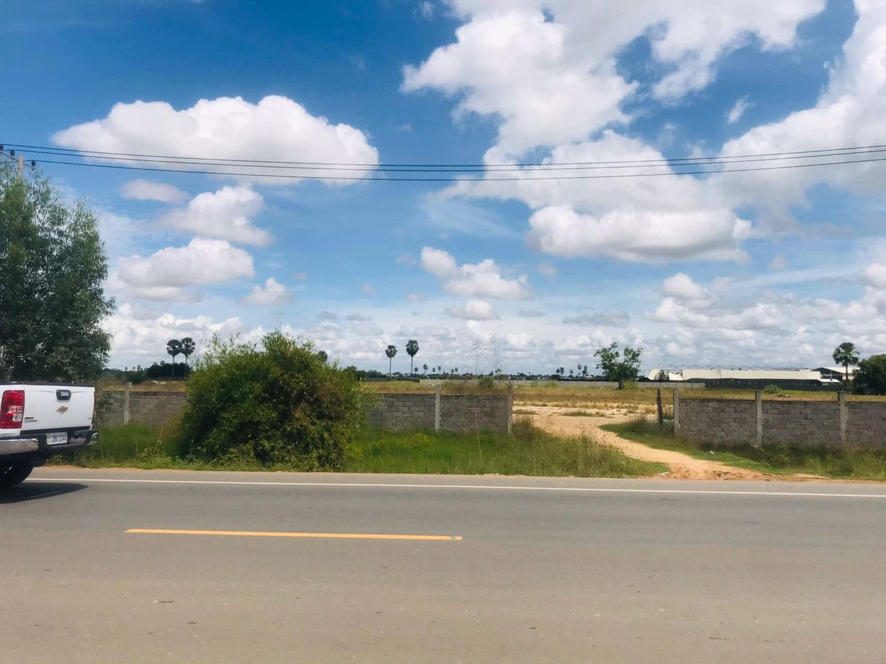 Good Location Land for Sale near Oudong