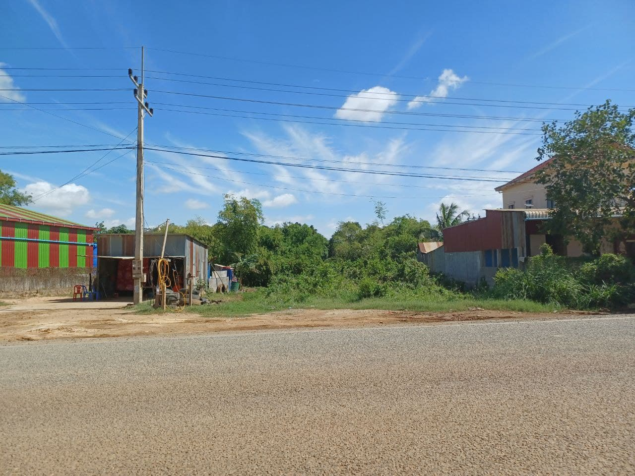 Urgent Land for Sale in Dangkao along Main Road 20A