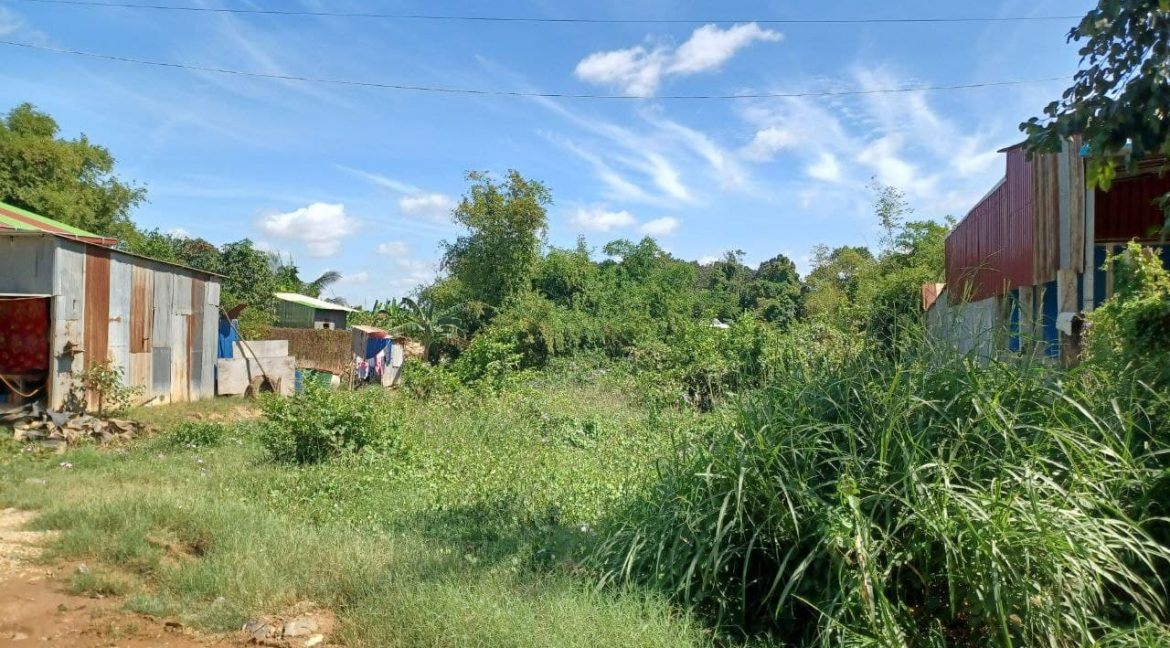 Urgent Land for Sale in Dangkao along Main Road 20A (2)