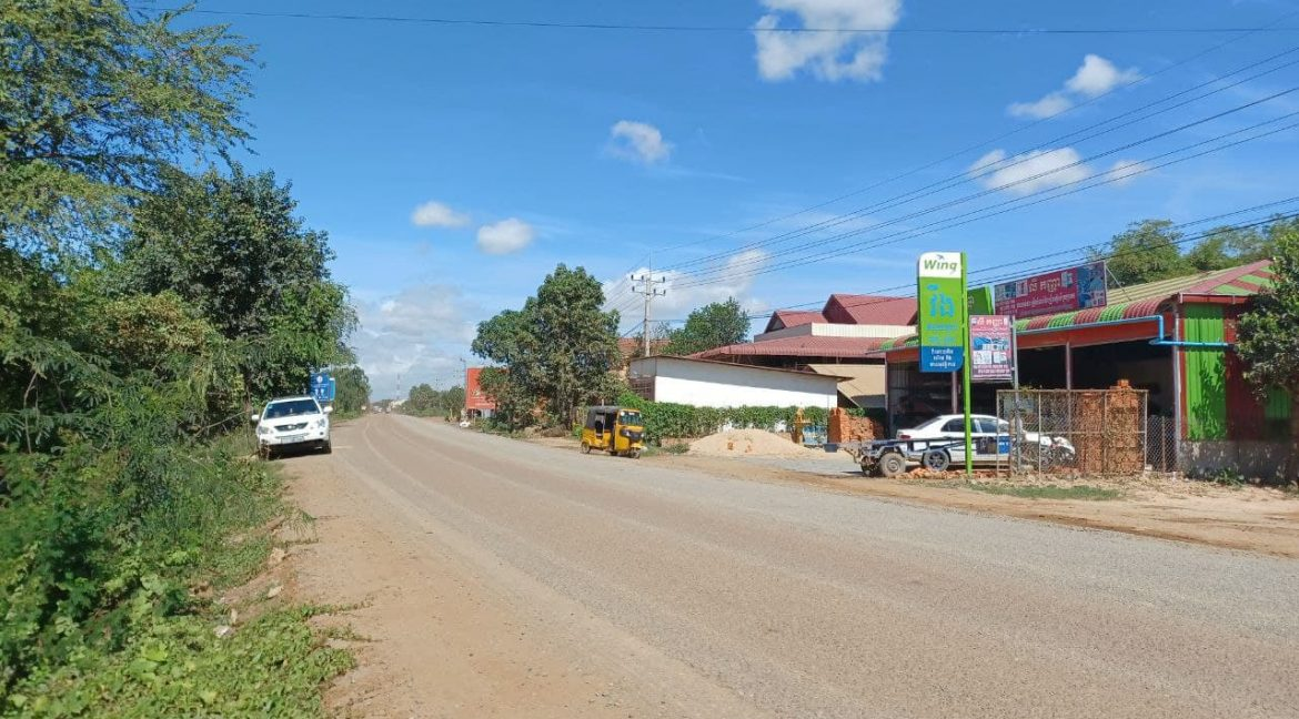 Urgent Land for Sale in Dangkao along Main Road 20A (5)